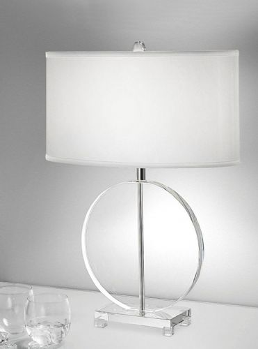 Franklite TL878 Crystal Table Lamp (Class 2 Double Insulated)